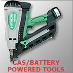Gas Battery Powered Tools