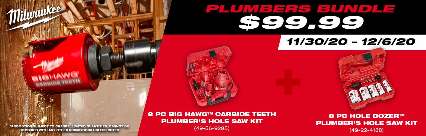 Milwaukee Plumber's Bundle!