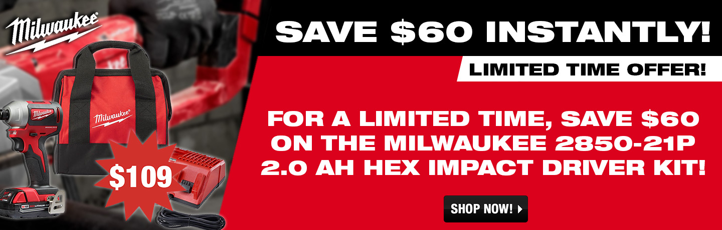 Milwaukee 2.0 Ah Kit!