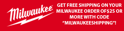 Milwaukee Free Shipping