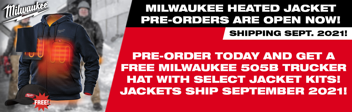 Milwaukee Heated Jackets Promotion