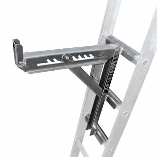 Universal Jacks On Ladders : Metaltech e lj p rung ladder jacks acetool