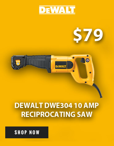 Geat a great deal on the DeWalt DWE304 Reciprocating Saw at Ace Tool!
