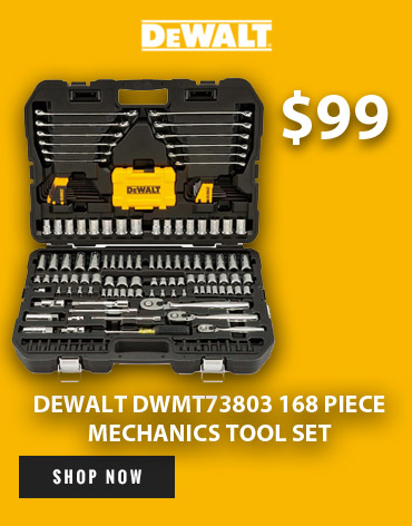 Get a great deal on the DeWalt DWMT73803 Mechanics Tool Set at Ace Tool!