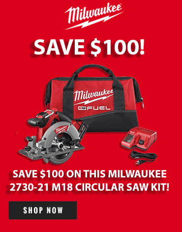 Get a great deal on this Milwaukee 18V Combo Kit!