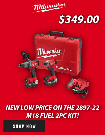 New low price on this Milwaukee M18 Combo Kit